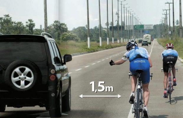5 consejos para conducir al lado de los ciclistas