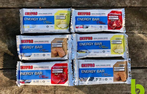 Prueba de las barritas OxyPro Energy Bar