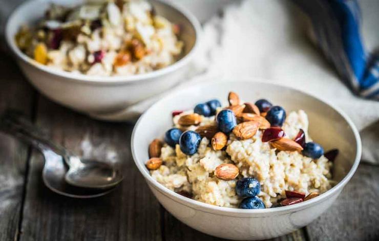 mejores desayunos con fibra