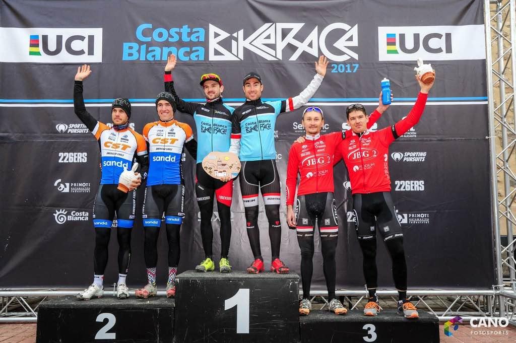 El Trek de Sergio Mantecón se lleva la Costa Blanca Bike Race por aplastamiento