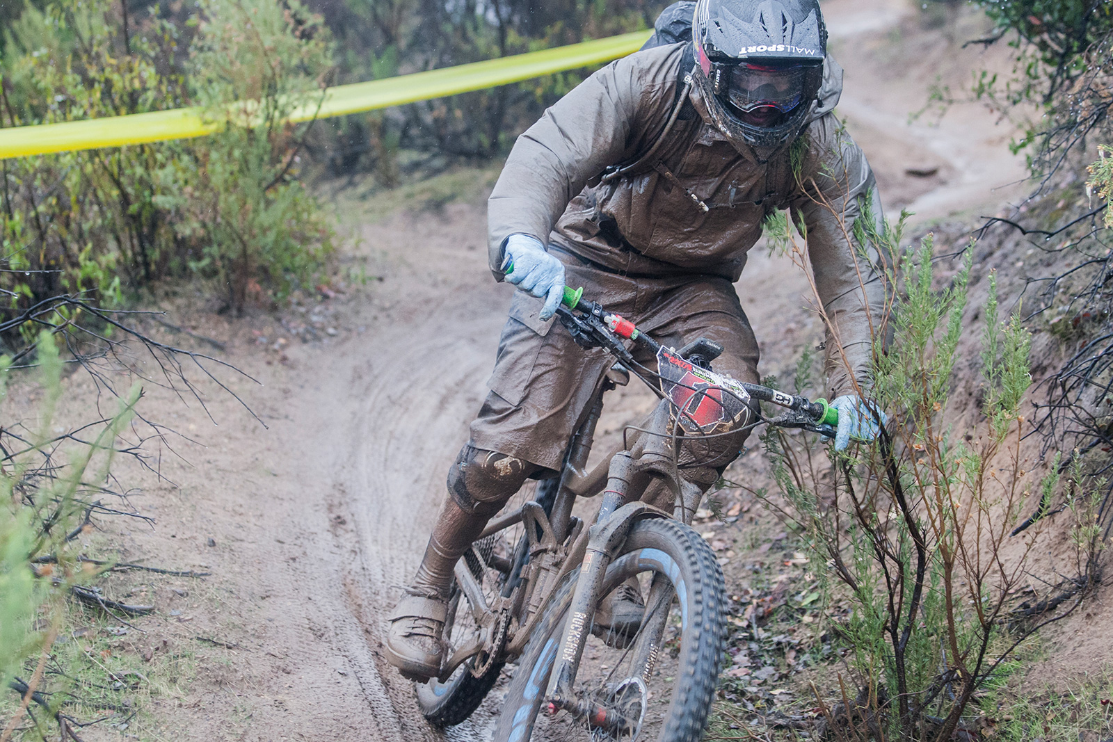 3 capas mountain bike