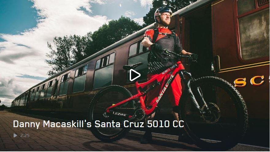 Santa Cruz 5010 CC, la mountain bike de Danny MacAskill al detalle
