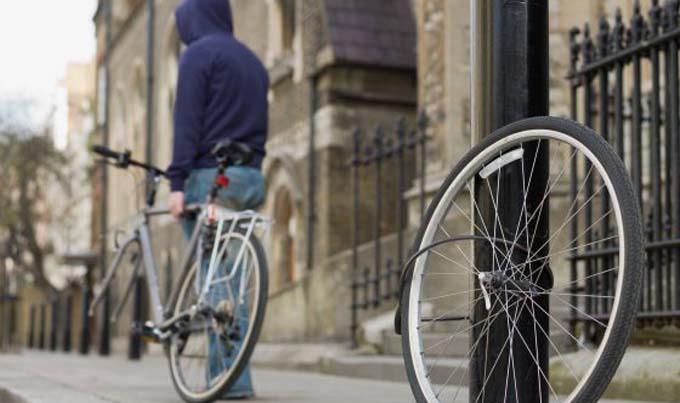 robar una bici