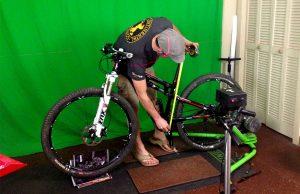 talla de mountain bike