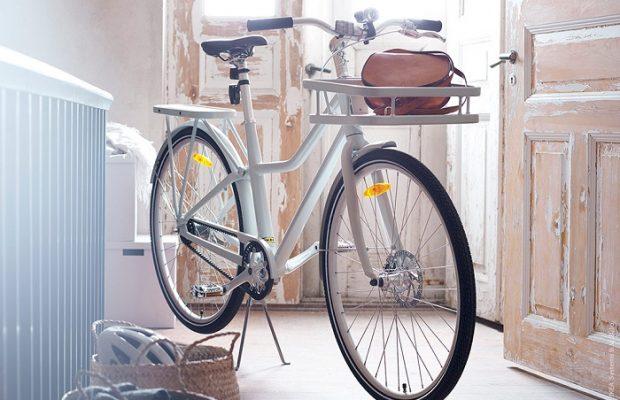 Esta es la bici de Ikea y viene cargada de accesorios