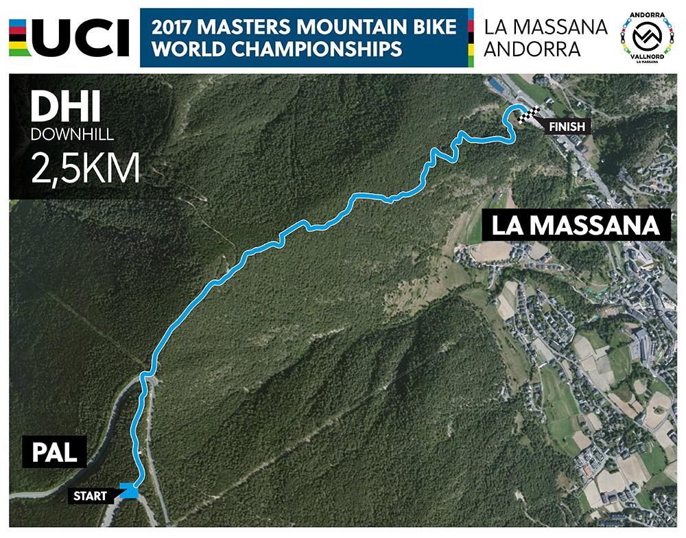 Campeonato del Mundo Másters UCI de XCO-DHI