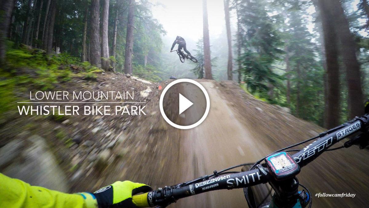 Mountain Bike en el Whistler Bike Park VÍDEO