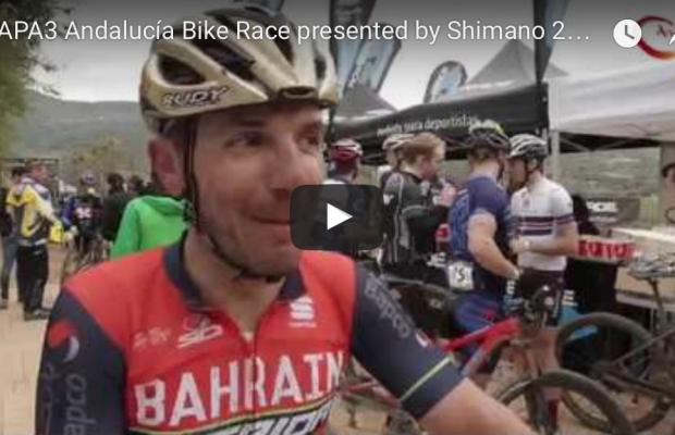 Vídeo de la tercera etapa Andalucía Bike Race
