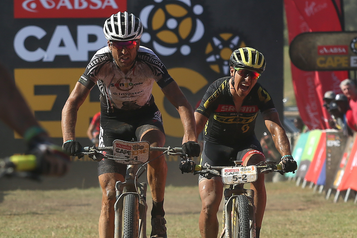 Cape Epic 2017 3 etapa Sauser