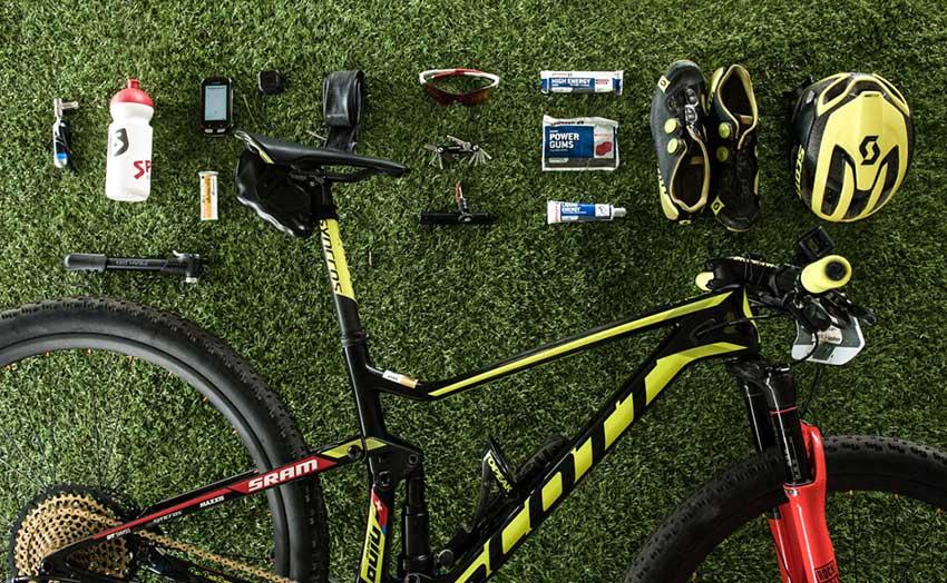 Material bici Nino Schurter Cape Epic 2017