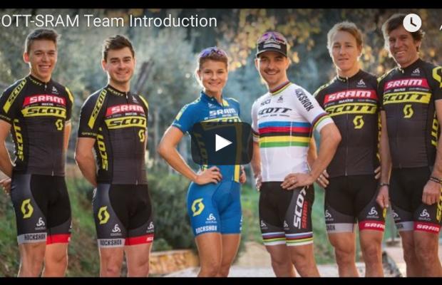 Vídeo de presentación del Scott SRAM Team
