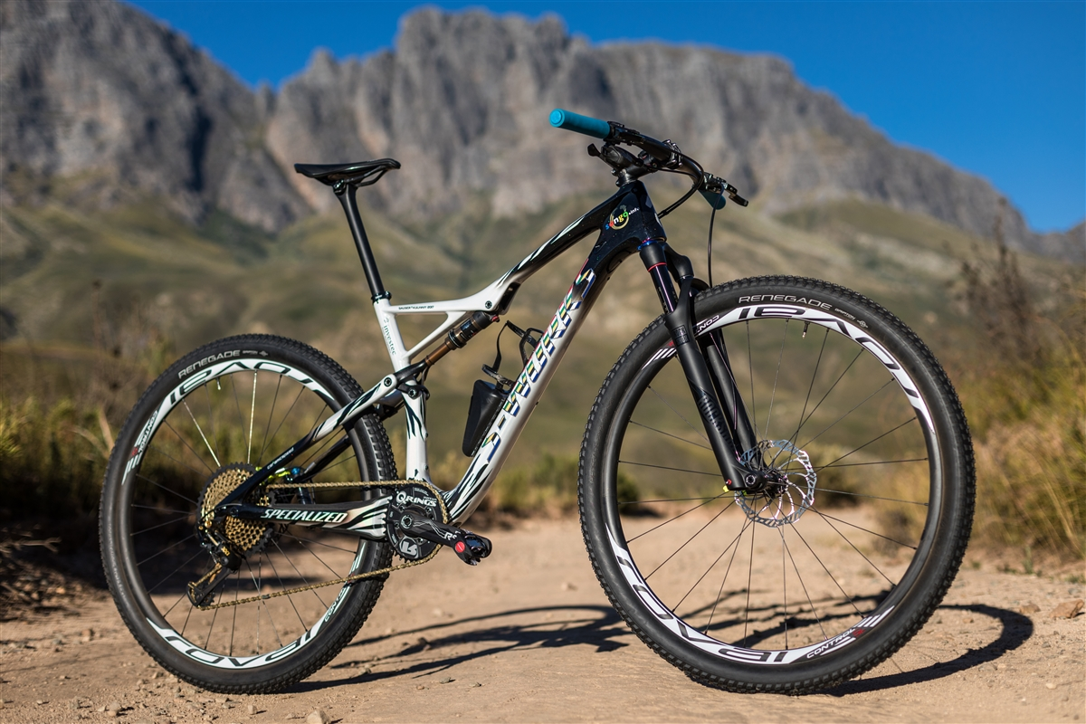 Specialized S-Works Epic FSR de Sauser