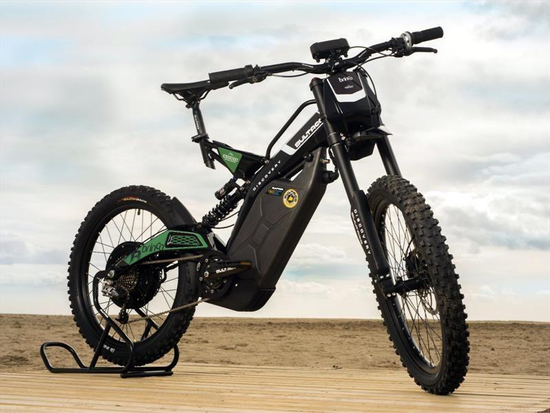 Brinco Discover, la mountain bike eléctrica de Land Rover y Bultaco