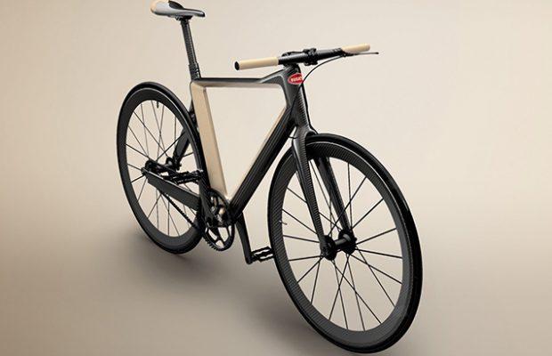 Bugatti presenta una bici urbana de súper lujo que solo pesa 5 kilos
