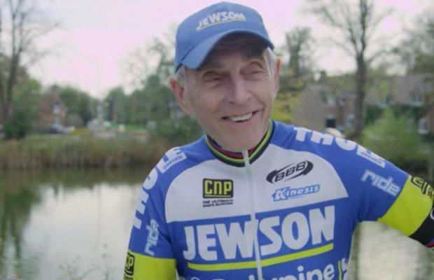 Este ciclista de 77 años se dispone a completar todo el recorrido del Giro de Italia