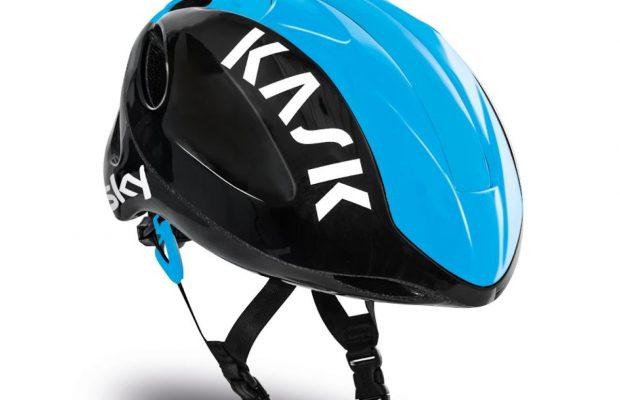 Este es el nuevo casco Kask del equipo Sky para el año 2017