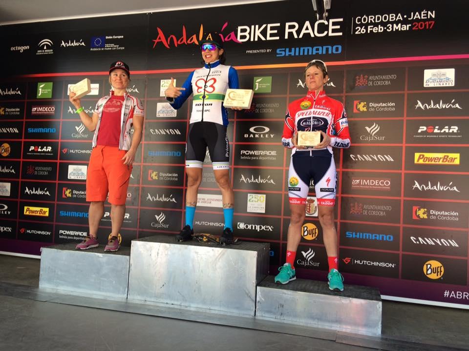 cuarta etapa de la Andalucía Bike Race