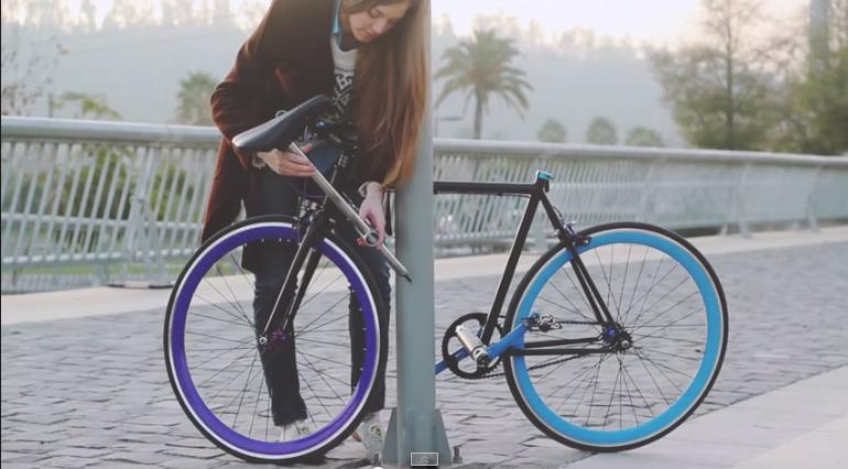 Roban la bici