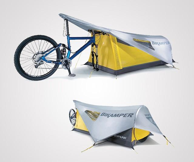 Topeak apuesta por el bikepacking con esta tienda de campaña y una nueva línea