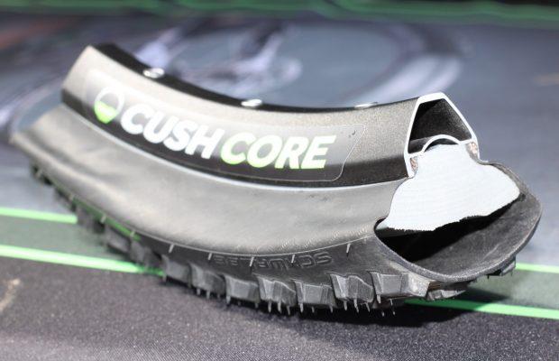 Cush Core, un innovador sistema que se instala en el interior de las ruedas