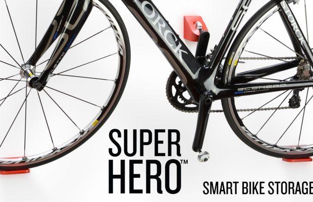 Nuevo Cycloc Super Hero, un soporte sencillo y elegante para bicis