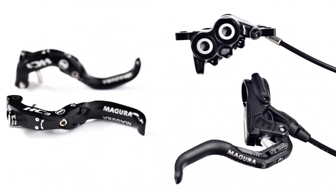 Maneta ajustable Magura HC3 y nuevos frenos MT Trail Sport