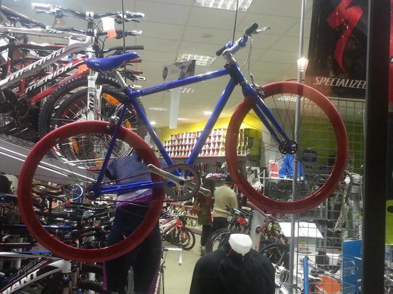 Tienda de ciclismo