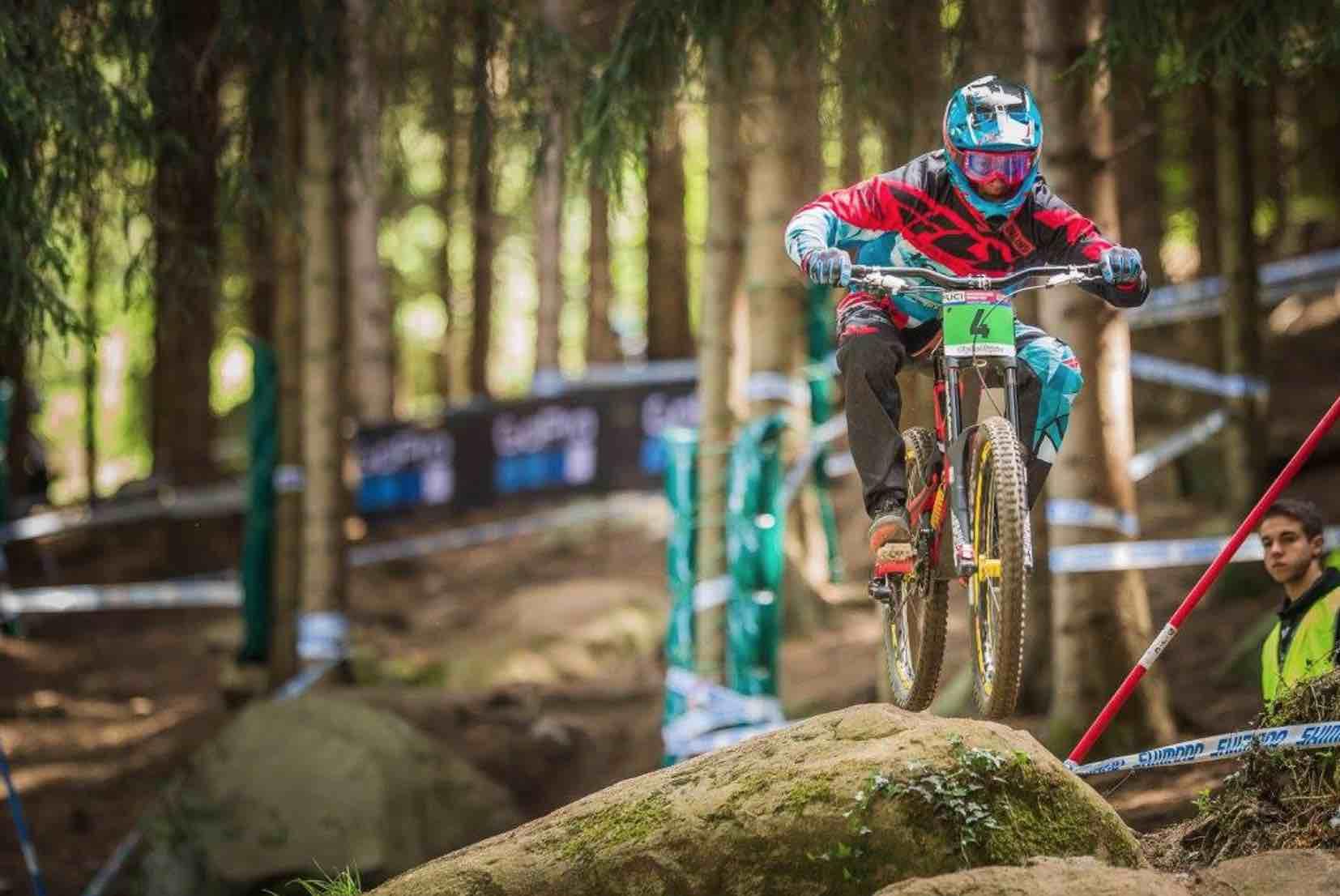 Copa del Mundo UCI DHI 2017 en Lourdes