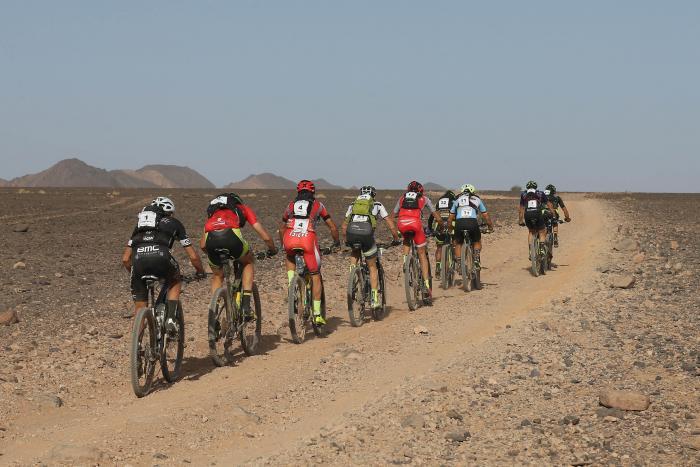 Titan Desert 2017 etapa 4 grupo