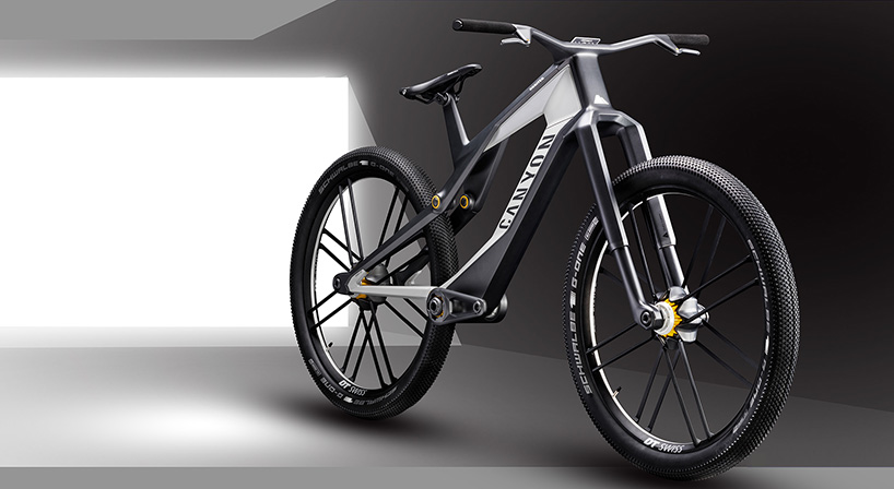 Canyon presenta una Ebike con suspensión electromagnética y tracción a las 2 ruedas