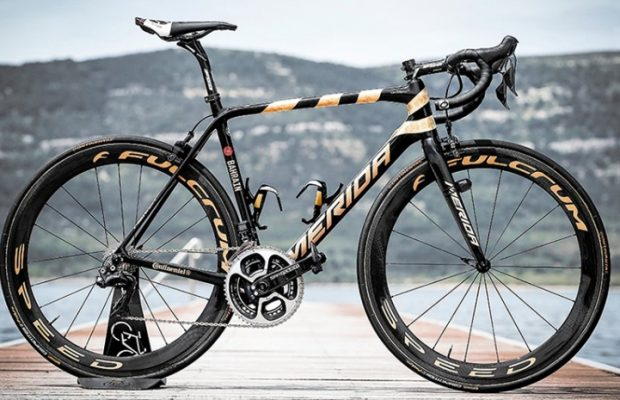 Así es la Merida Scultura que Nibali montará en el Giro de Italia